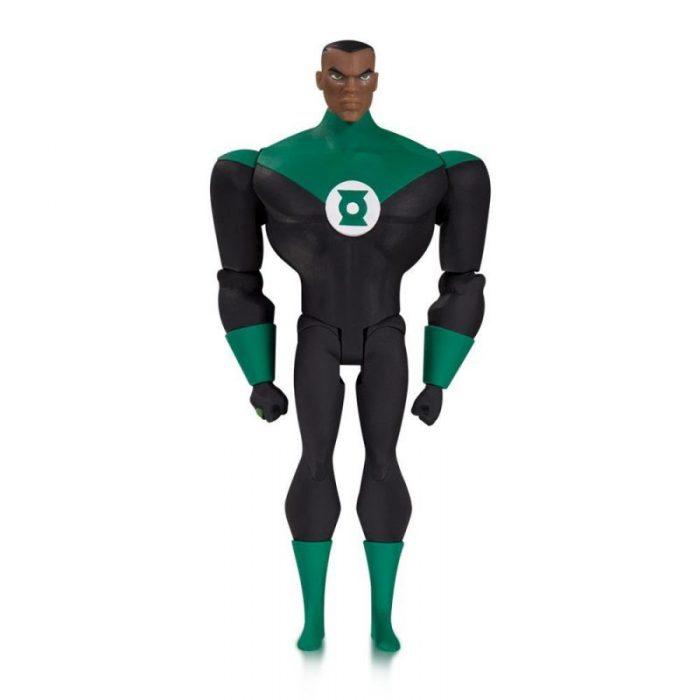 Justice League Animated Green Lantern (John Stewart) Action Figure