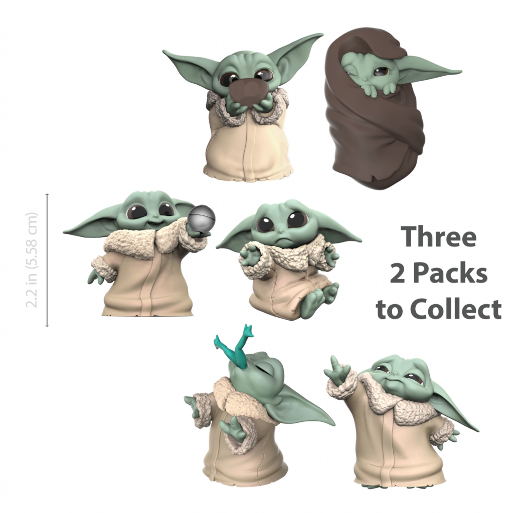 "Star Wars Collection: ""The Bounty Collection"" The Child Toy Collectible 2-packs"