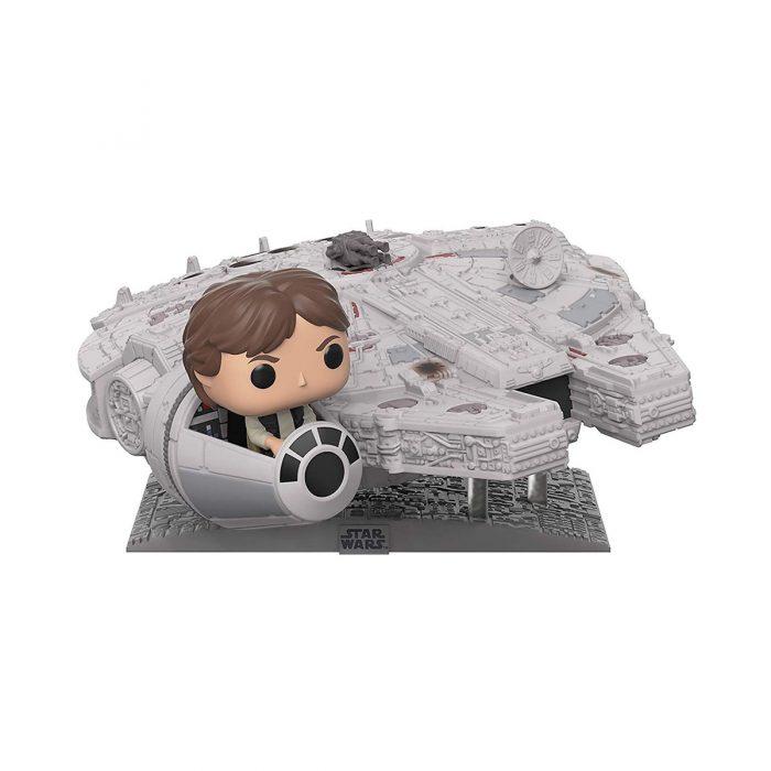 Millinnium Falcon with Han Solo Funko Pop