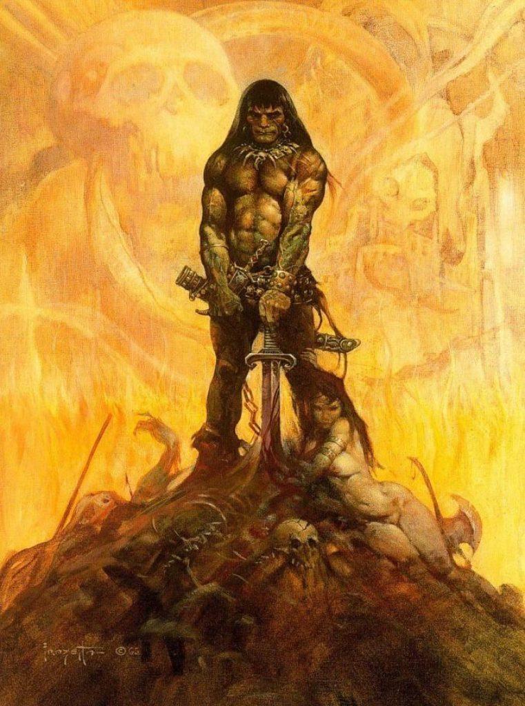 COnan the barbarian mezco toyz