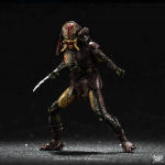 Predators Berserker Predator (Unmasked) 1:18 Scale PX Previews Exclusive Action Figure