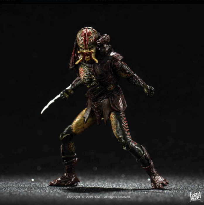 Predators Berserker Predator (Unmasked) 1:18 Scale PX Previews Exclusive Action Figure