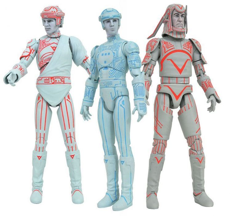 DIamond Select Toys Tron Action FIgures