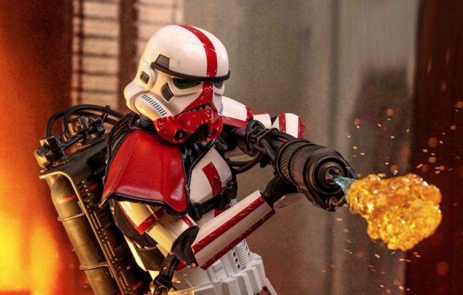Hot Toys Mandalorian Incinerator Stormtrooper Action Figure