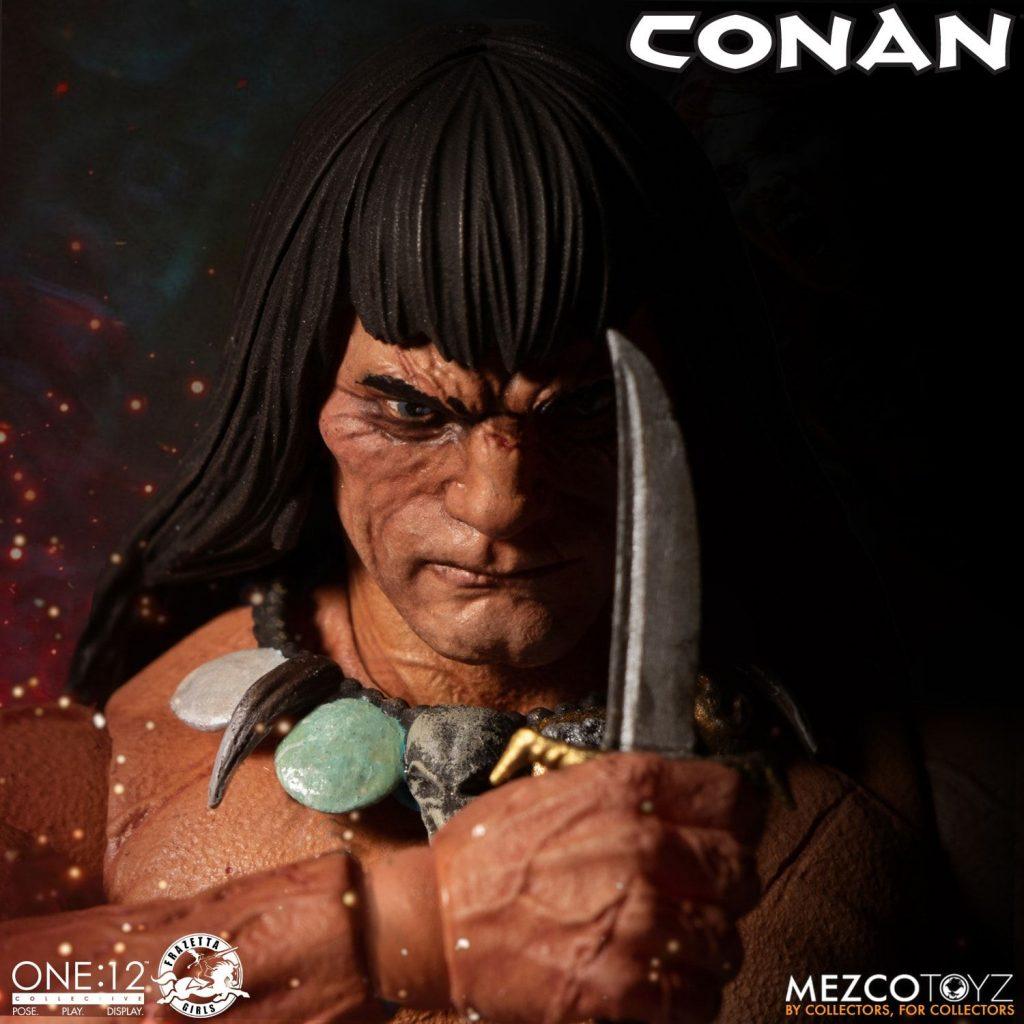 mezco tpyz conan action figure