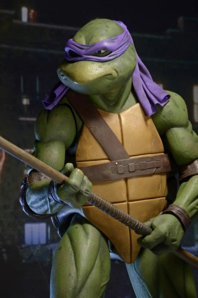 TMNT (1990 Movie) Donatello 1/4 Scale Figure