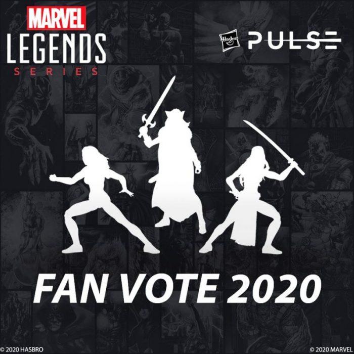 Marvel Legends Fan Vote 2020 by Hasbro