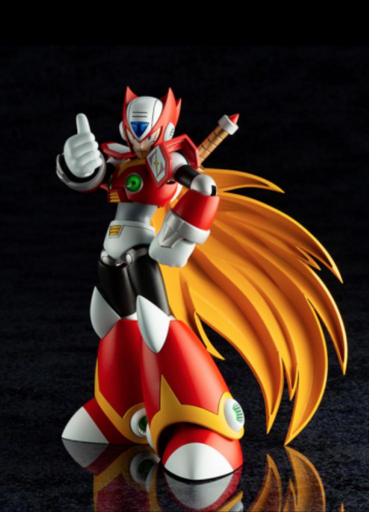 Mega Man X Zero 1/12 Scale Model Kit