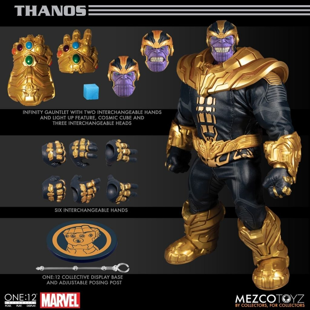 Thanos One:12 Collective Action Figure