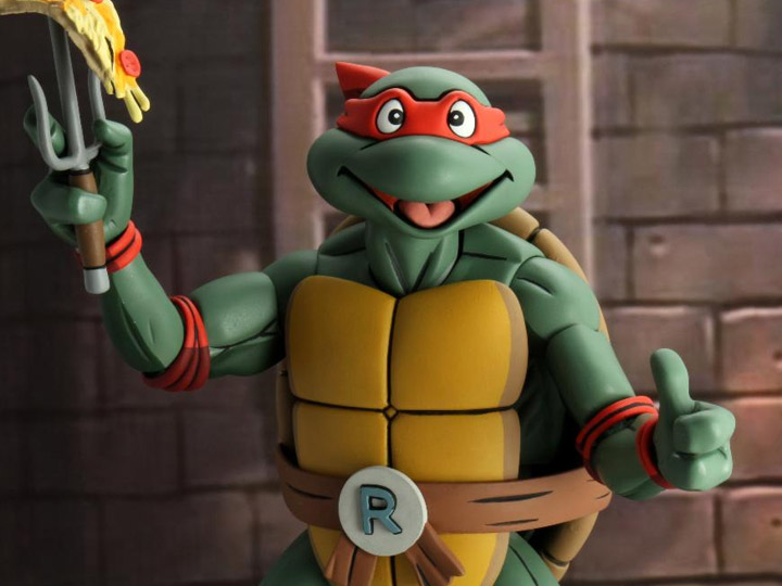 Teenage Mutant Ninja Turtles (Cartoon) – ¼ Scale Action Figure – Super Size Raphael