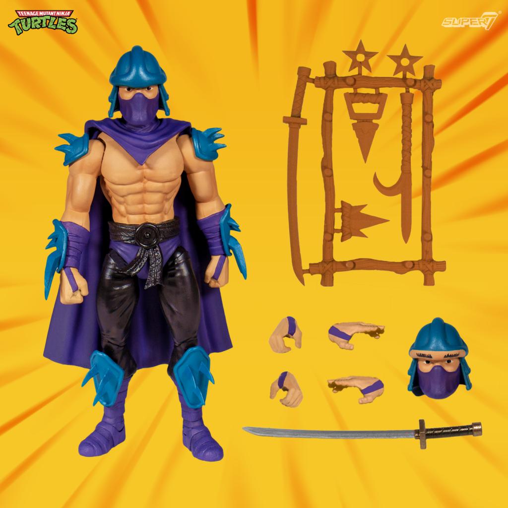 super7 shredder ultimates action figure