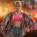 BIRDS OF PREY HARLEY QUINN (CAUTION TAPE JACKET VERSION) 1/6TH SCALE COLLECTIBLE FIGURE