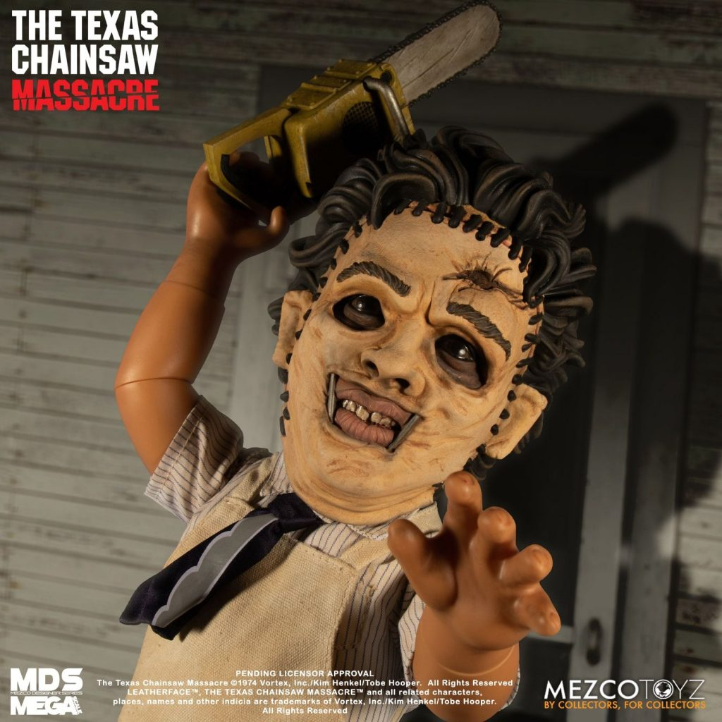 The Texas Chain Saw Massacre Mezco Designer Series Mega Scale Leatherface BY MEZCO TOYZ