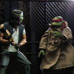 "images for the upcoming 7"" Scale Action Figures of Casey Jones and Disguised Raphael!"