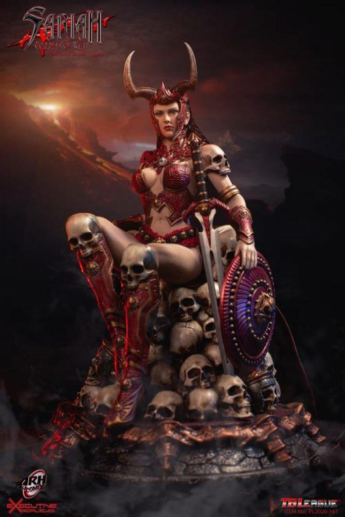 Sariah, the Goddess of War