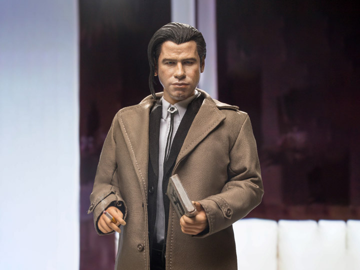 Pulp Fiction Vincent Vega (Pony Tail Ver.) Deluxe 1/6 Scale Figure BY STAR ACE