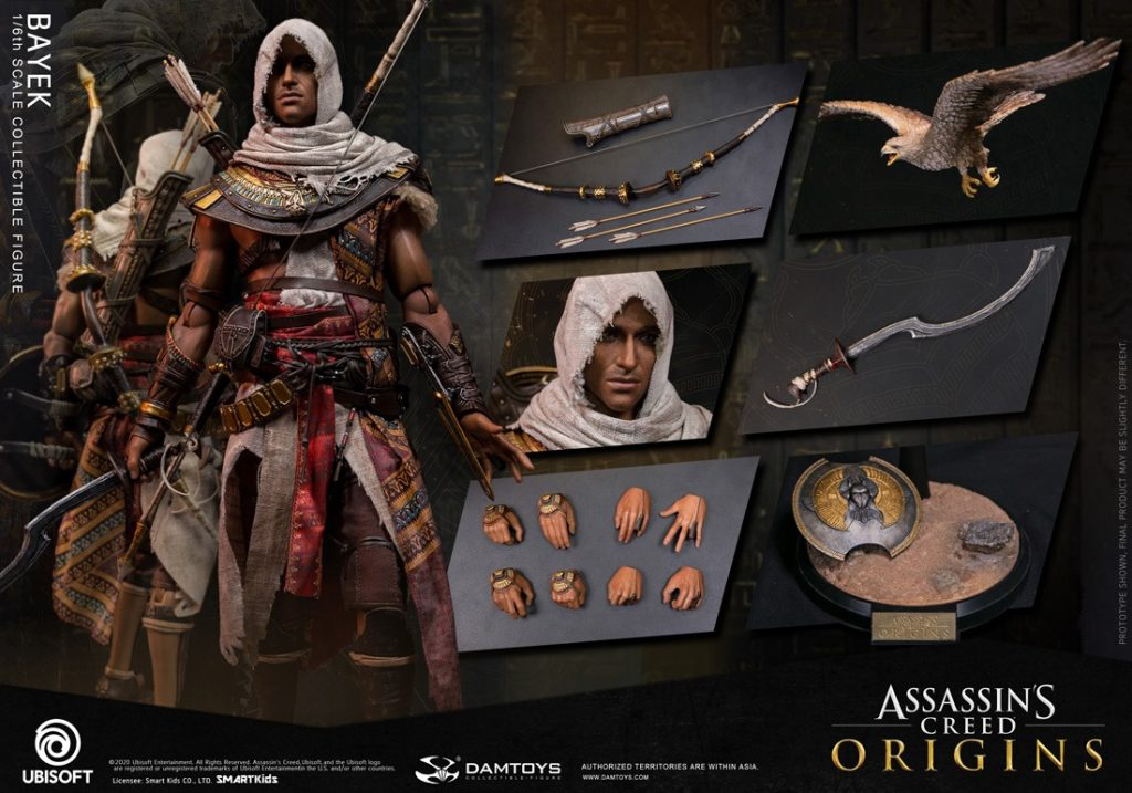 Assassin's Creed Origins – Bayek 1/6 Scale Figure by DAMTOYS