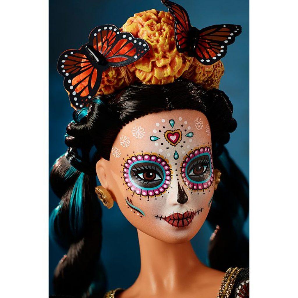 Barbie Dia De Muertos Doll BY MATTEL
