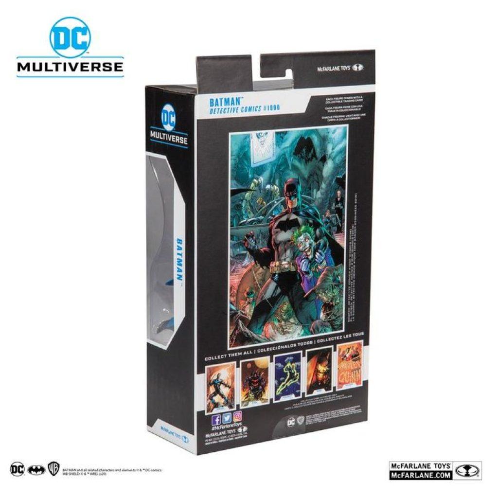 DC Multiverse Variant Batman blue and gray action figure sale