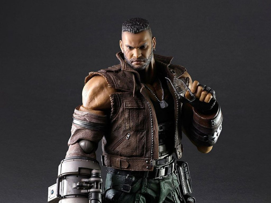 Final Fantasy VII Remake Play Arts Kai Barret Wallace (Version 2)