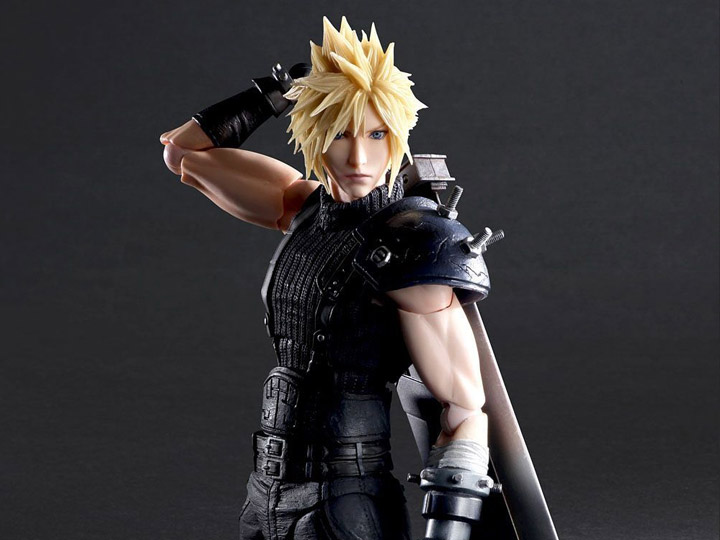Final Fantasy vii remake action figures