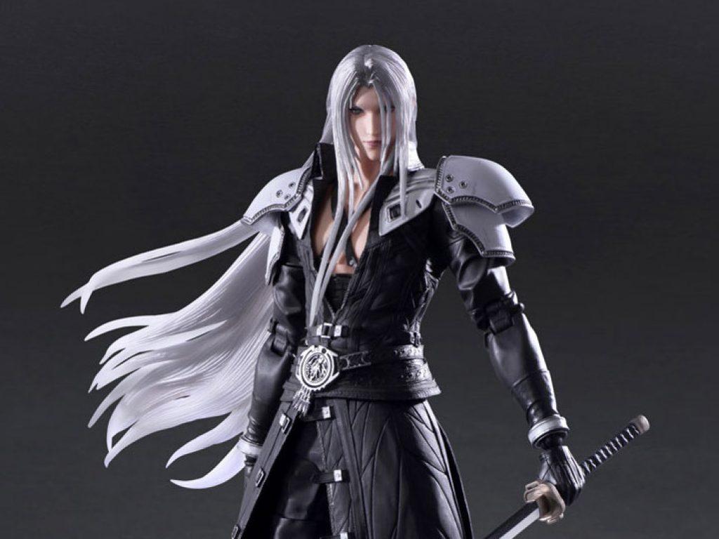 Final Fantasy VII Remake Play Arts Kaiaction figures