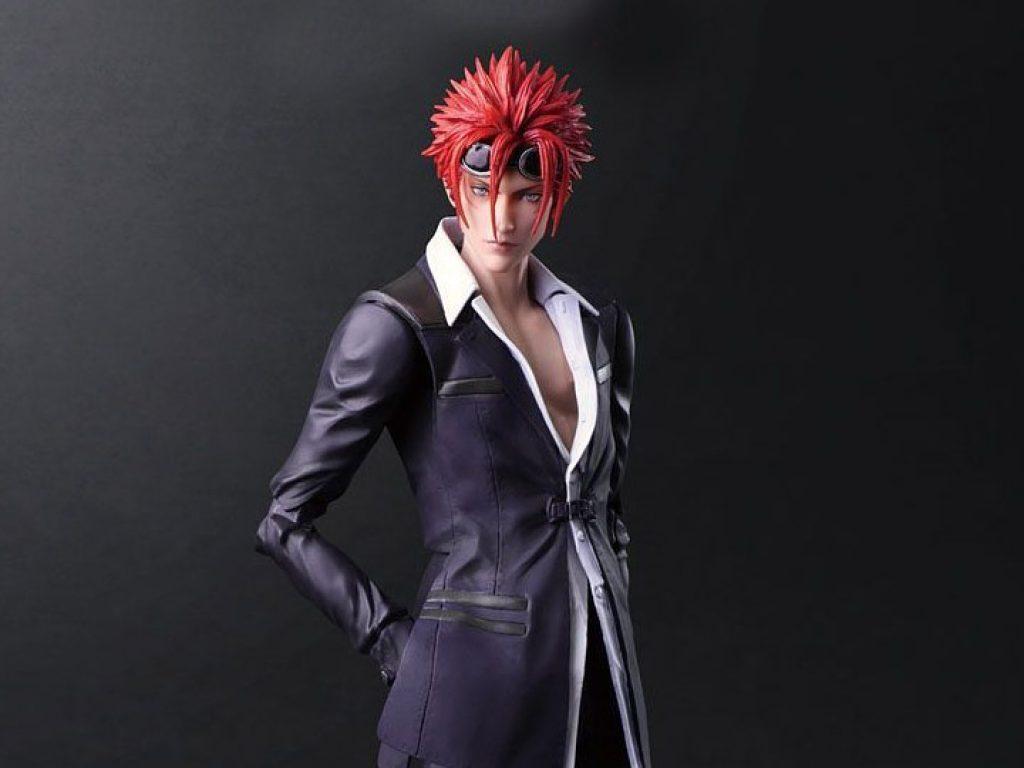 Final Fantasy VII Remake Play Arts Kai Reno action figure