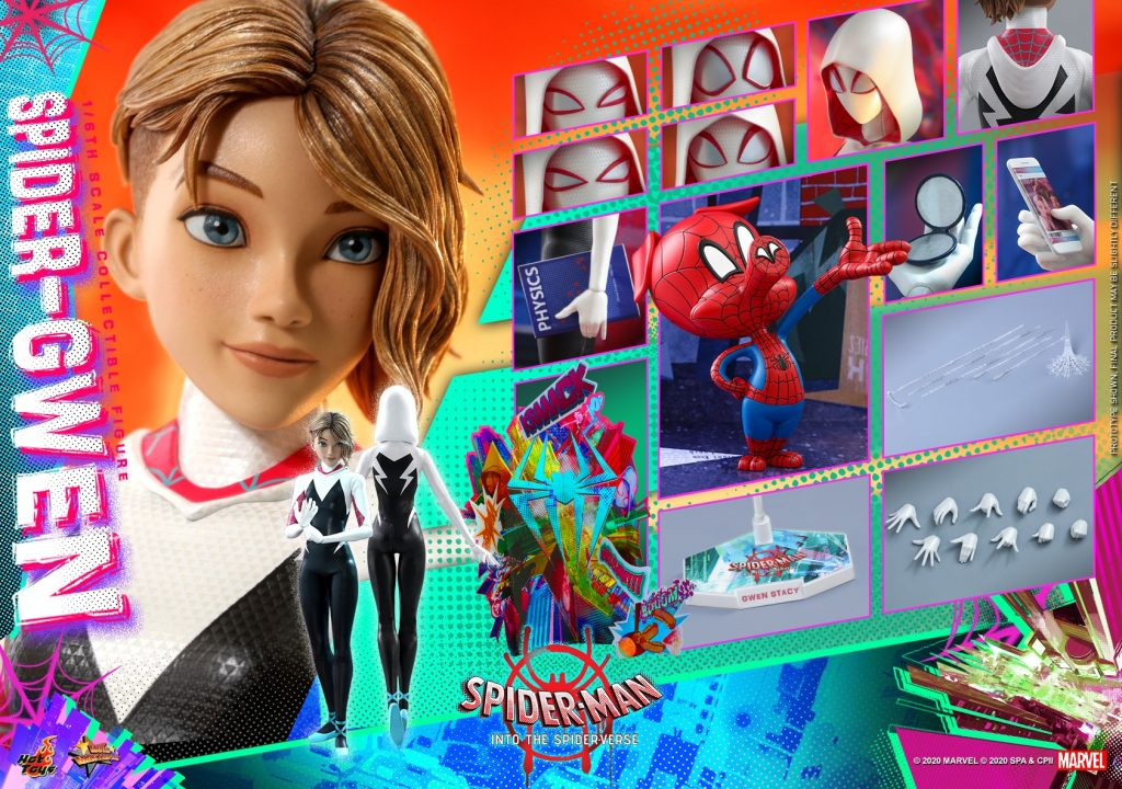Spider-Man: Into the Spider-Verse Spider-Gwen Action Figure by Hot Toys