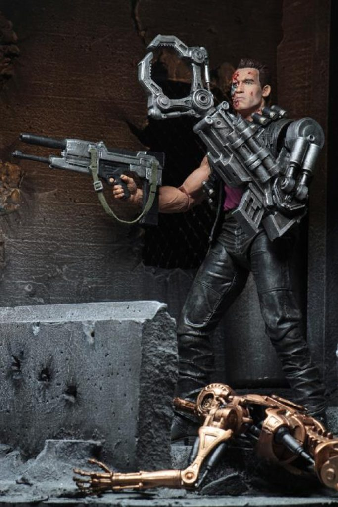 Terminator 2 Kenner Tribute Set of 3 Figures BY NECA