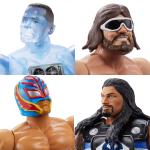 WWE MWWE Masters of the WWE Universe wave 2 action figuresasters of the WWE Universe wave 2 action figures