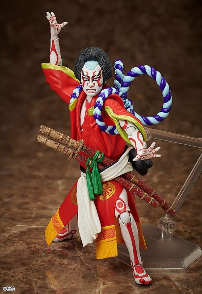 Yoshitsune Senbon Zakura Figma Action Figure Kitsune Tadanobu