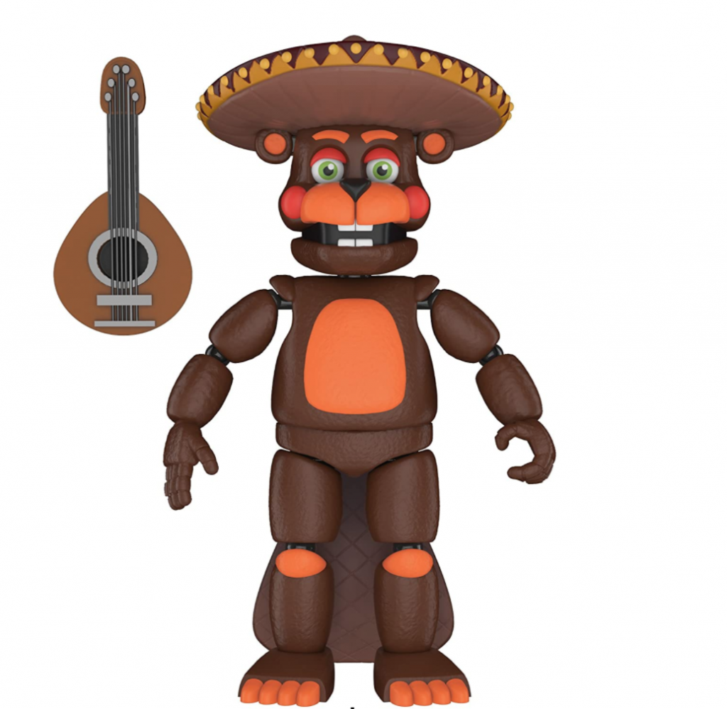 Funko Five Nights at Freddy's Pizza Simulator - El Chip Collectible Action Figure