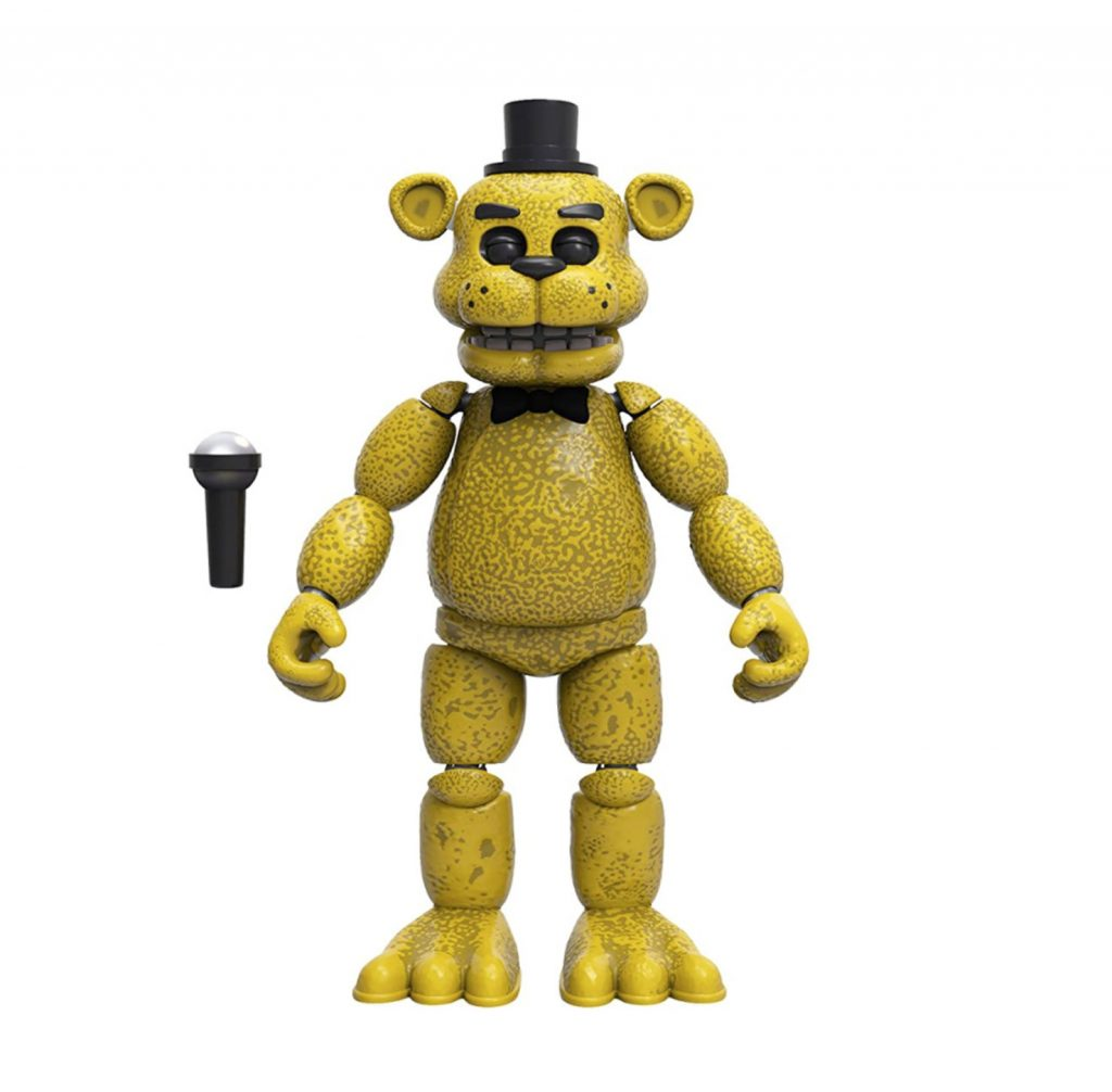 Funko Five Nights at Freddy's Golden Freddy Action Figure