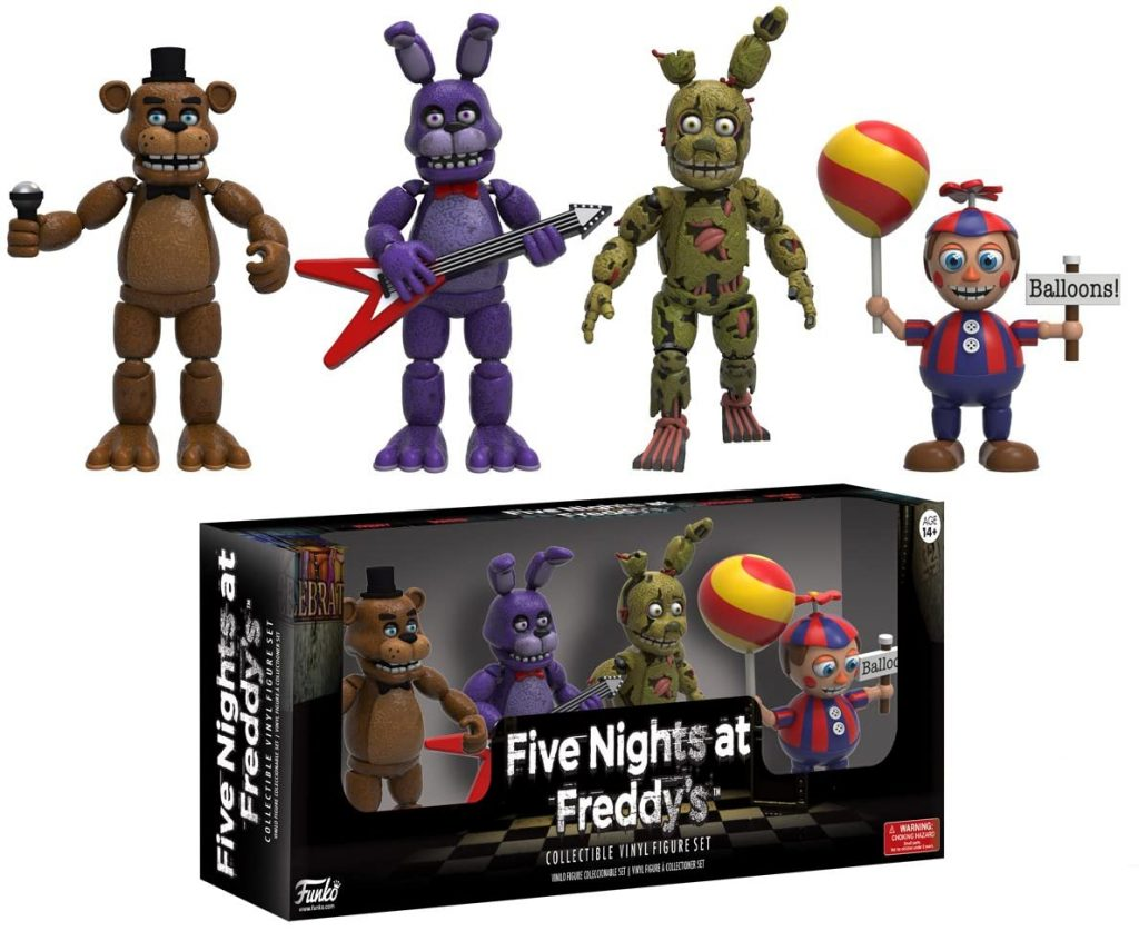 Funko Five Nights at Freddy's 4 Action Figure Pack (Set 2)