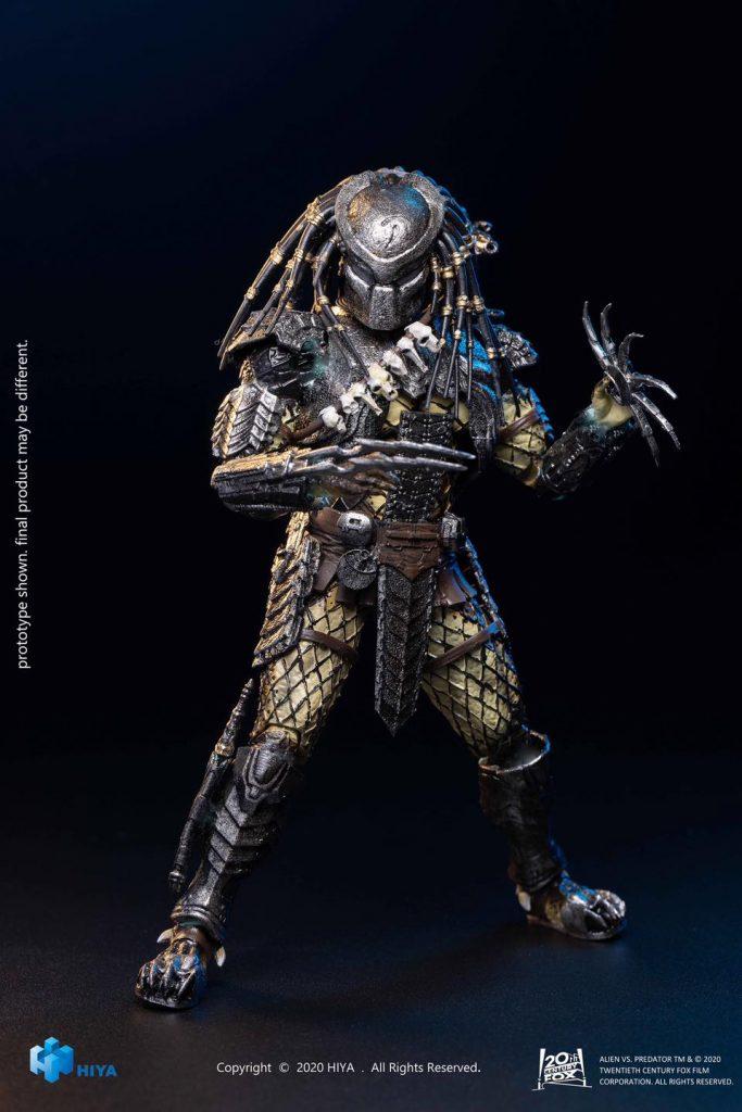 "Hiya Toys Alien vs. Predator Scar ""Alien Hunter"" Action Figure Teaser Photos"