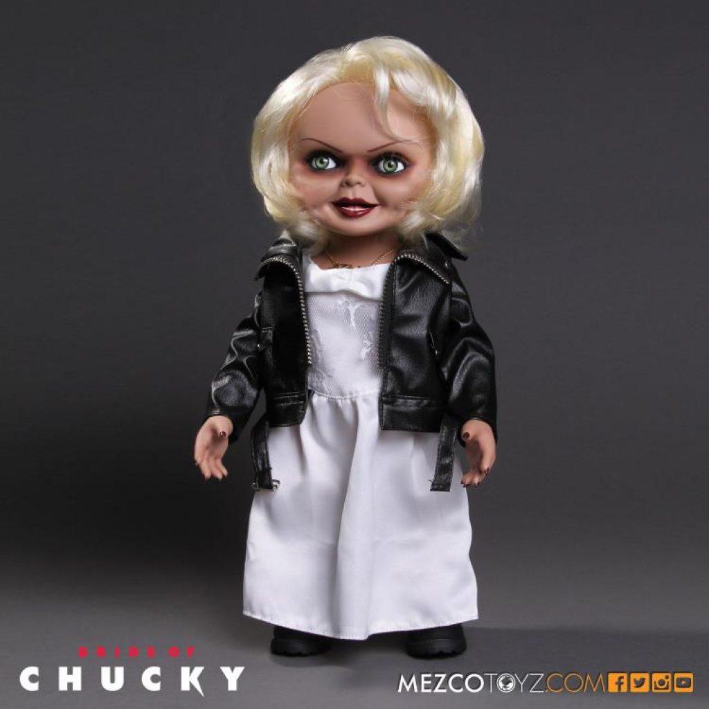 Bride of Chucky Mezco Designer Series Mega Scale Talking Tiffany BY MEZCO TOYZ