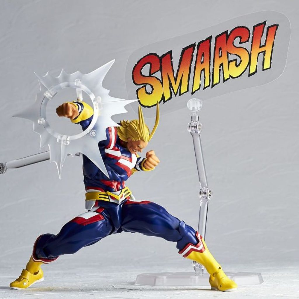 The All Might My Hero Academia Action Figure by Kaiyodo