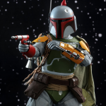 Star Wars Action Figures featuring Boba Fett from Hot Toys