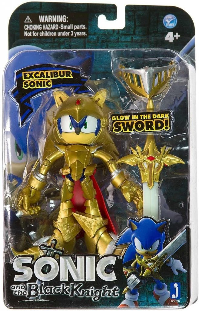 Heading Jazwares Sonic and The Black Knight Excalibur Sonic Action Figure