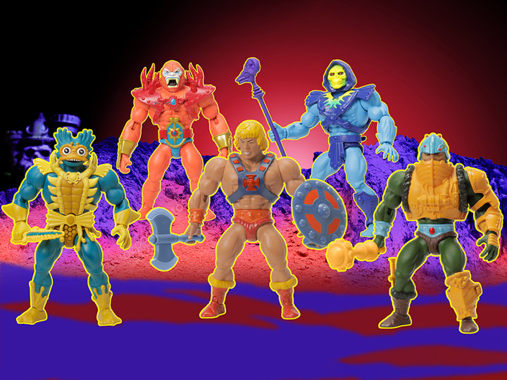 Power-con 2020 motu exclusive action figures