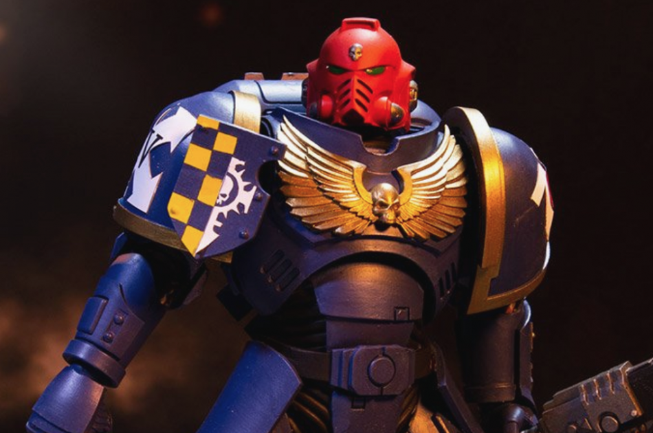 McFarlane Toys Warhammer 40,000 Ultramarines Primaris Assault Intercessor Action Figure
