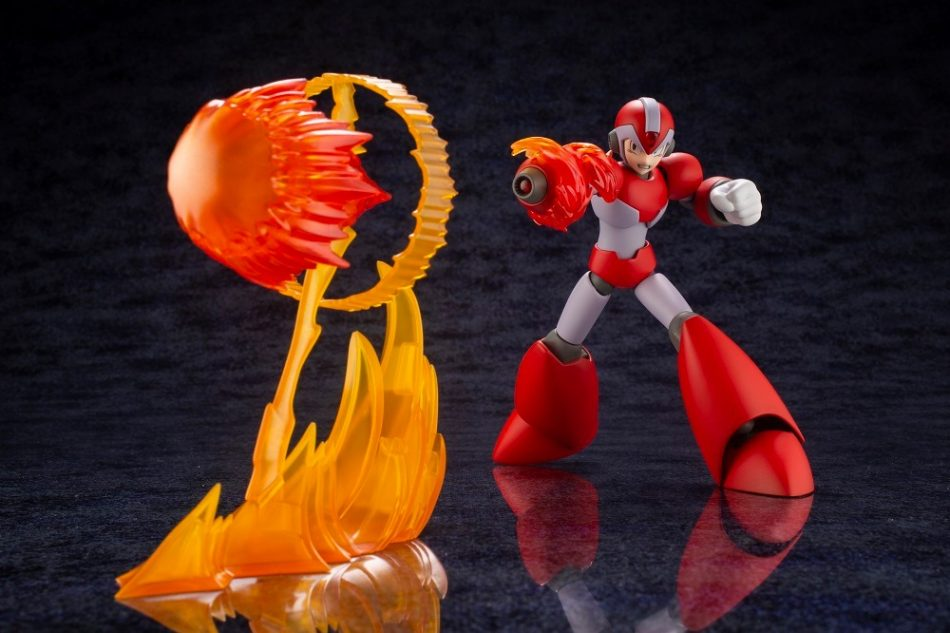 Mega Man X Rising Fire Version Toy by Kotobukiya
