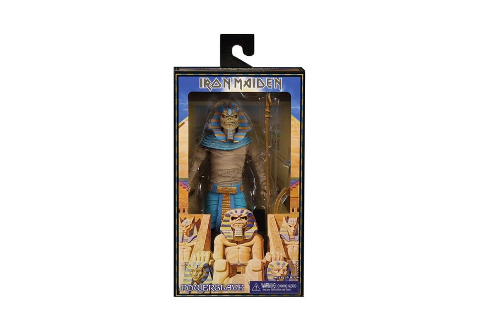 Iron Maiden 8″ Clothed Action Figure – Pharaoh Eddie