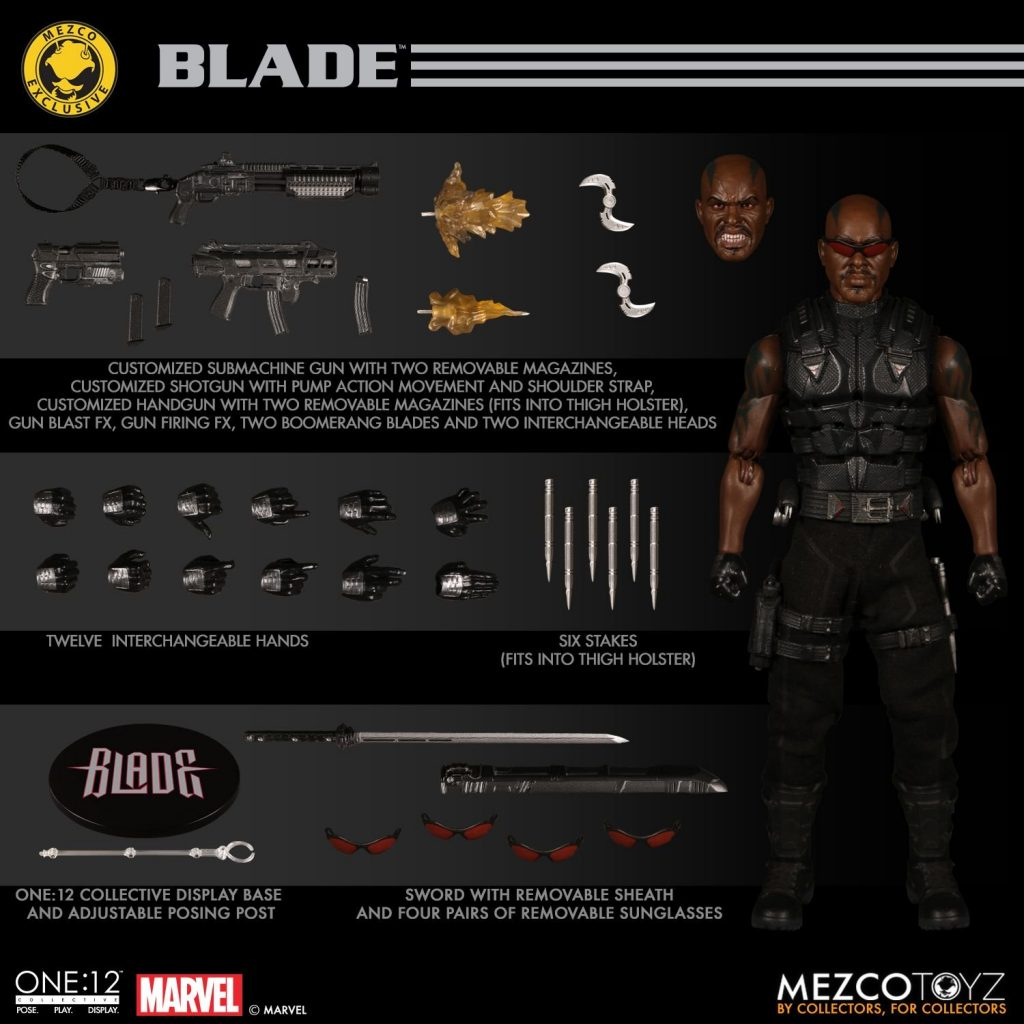 One:12 Collective Blade Action Figure sale