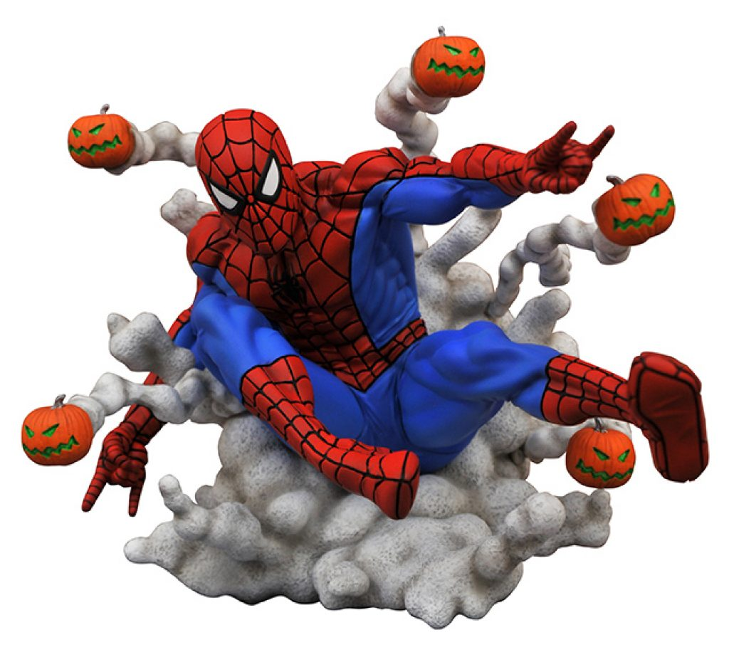 Marvel Comic Gallery Spider-Man Pumpkin Bombs PVC Diorama