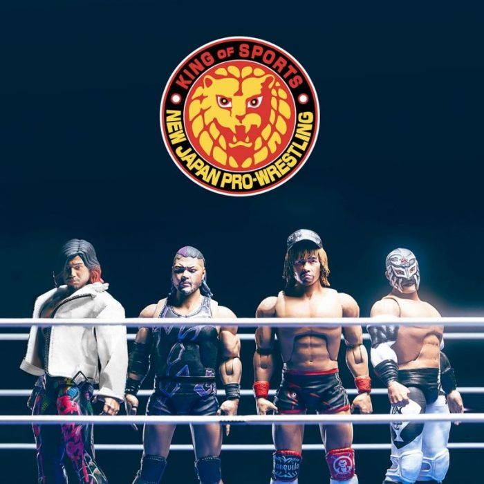 Super 7 New Japan Pro Wrestling Action Figures