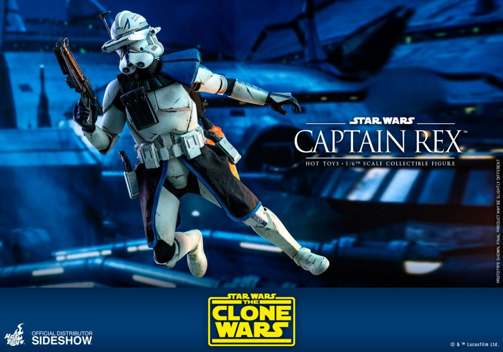 captain rex action figure by hot toys for sale