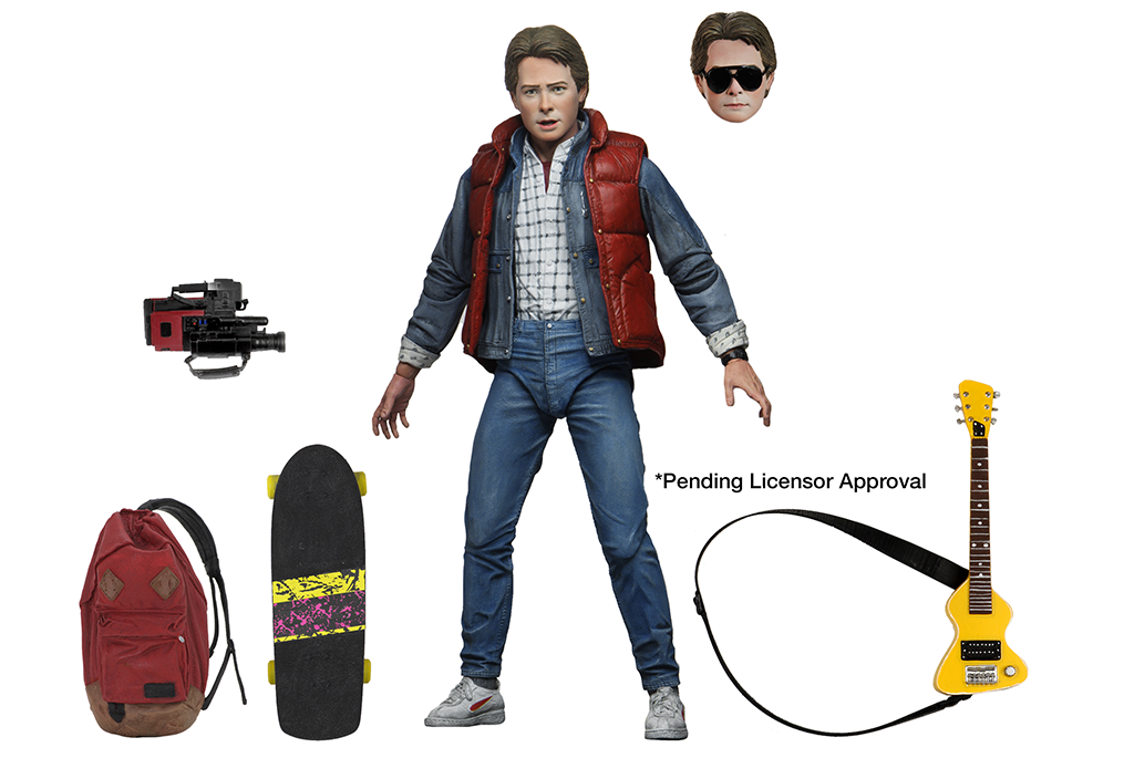 Back to the Future Ultimate Marty Figure BY NECA
