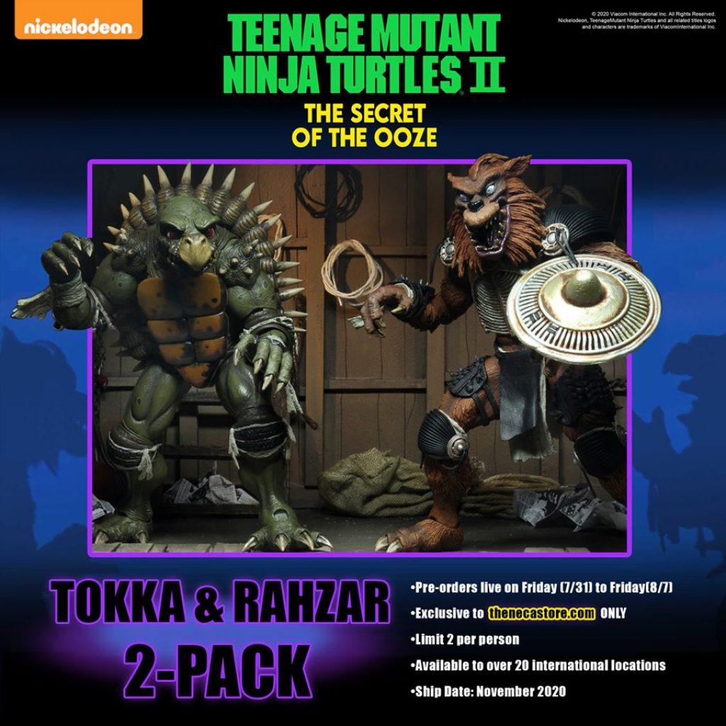 TMNT Tokka and Rahzar action figures