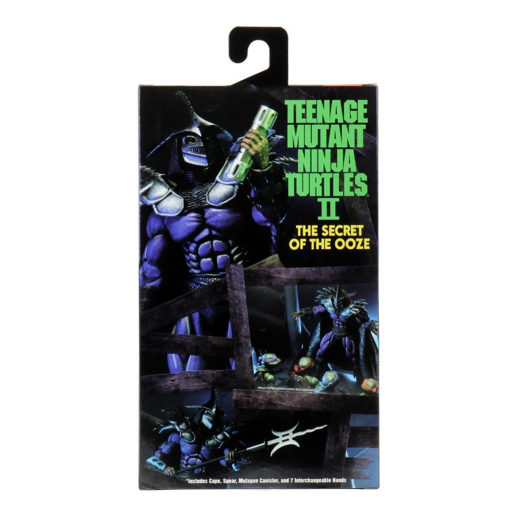 NECA Super Shredder Action Figure SDCC